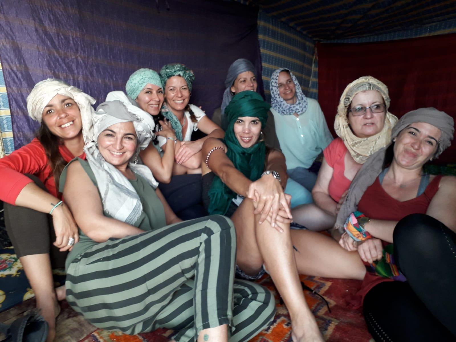Las chicas del Sahara