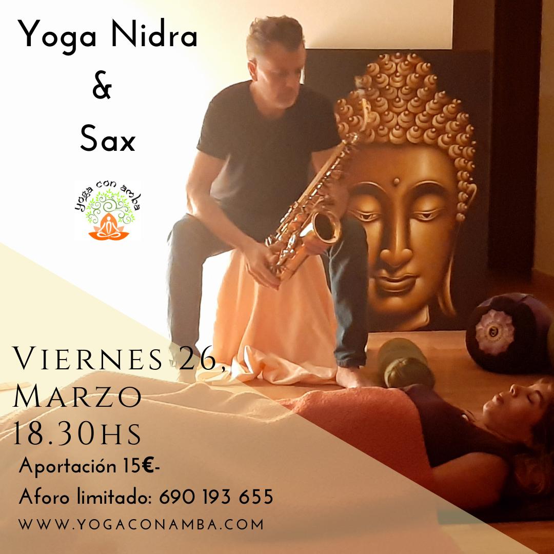 Yoga Nidra & Sax